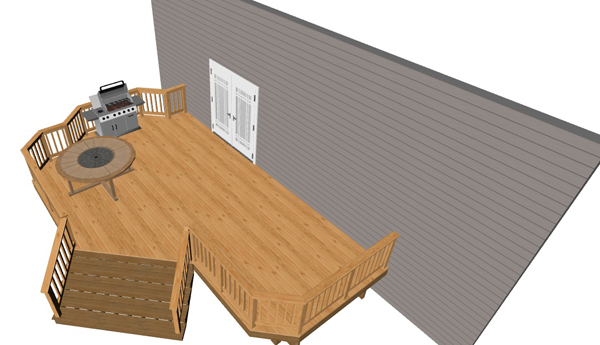 Low Elevation Deck Designs Baltimore Annapolis Md Dc Va