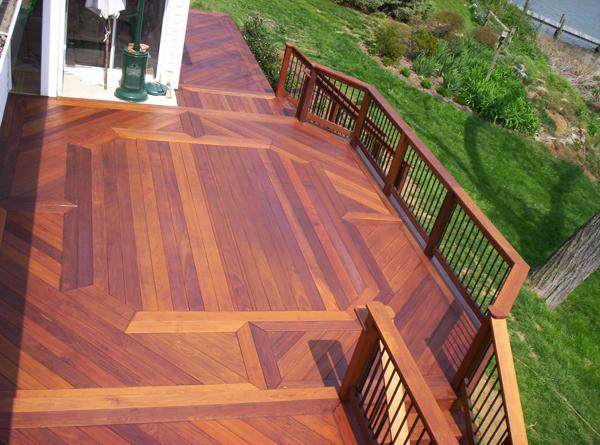 Wood Decks Wooden Deck Builder Anne Arundel County Mid