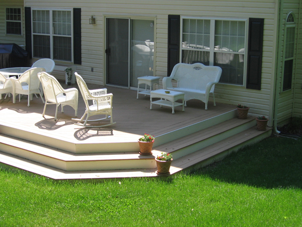 Low maintenance composite decking baltimore md dc va for Low maintenance decking