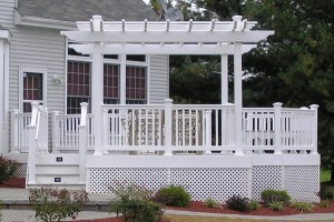 With the Fourth around the corner, you probably know that you're going to have a cookout or a party, and entertainment is so much better when you've got a pergola.