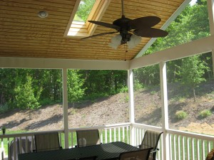 Screen porch, PGT® Eze-Breeze® Panels, cleaning tips