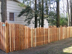 A Wood Fence Can Improve Your Home's Curb Appeal!