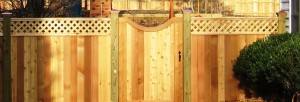 Wood fencing can come in various designs and styles suitable for your home.