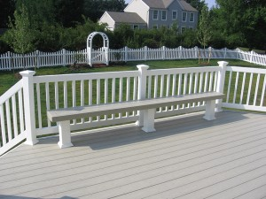 Investment Wood Composite Deck