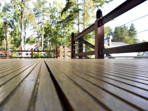 wooden deck, maintenance