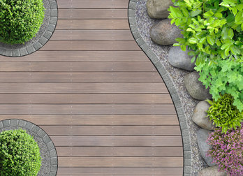 Deck areas creating zen like entertaining spaces with a modern twist