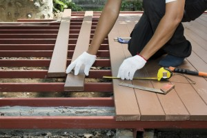 Wooden Deck Installation