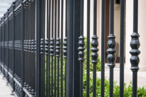 Wrought iron is softer to forge, but it is it's incredibly longevity that makes it an incredibly effective fence material.