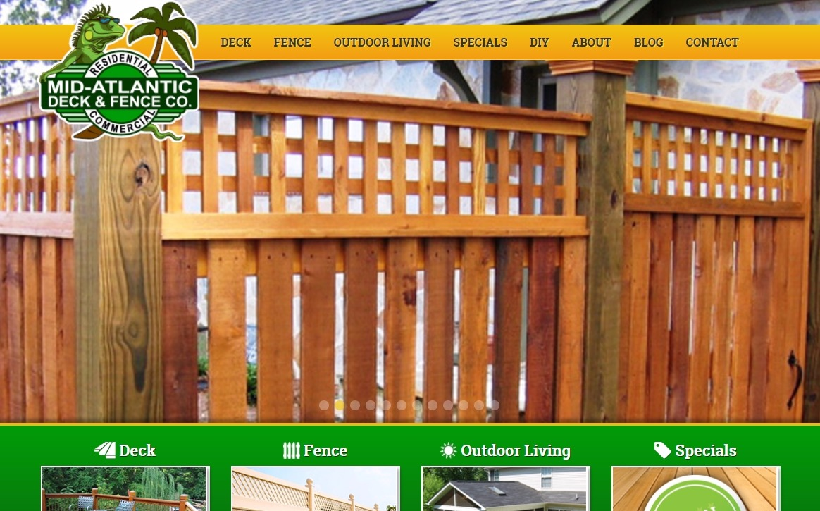 mid atlantic deck and fence company anne arundel county