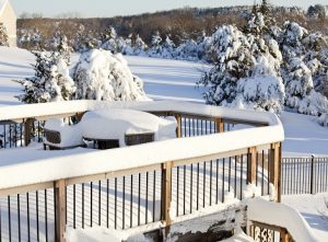 Preventing a Wintertime Deck Collapse