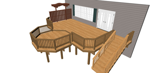 Custom Deck Design Baltimore