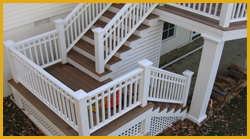 Deck Staircase Landing Locations Maryland Dc Va Pa