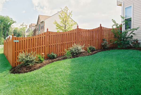 Installing A Wood Fence On Uneven Ground Best Idea Garden