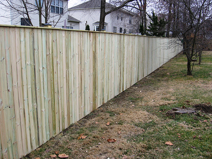 Installed Privacy Fence Special