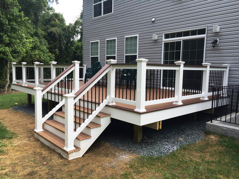 Low Maintenance Composite Decking Baltimore Md Dc Va