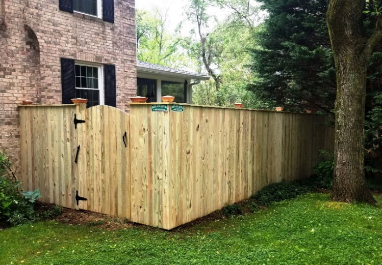 Wood Fencing Wooden Fence Builders Md