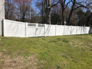 New Vinyl Fence in Severna Park by MAD Fence