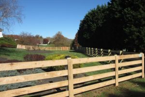 mid-atlantic deck and fence wood fences in arnold