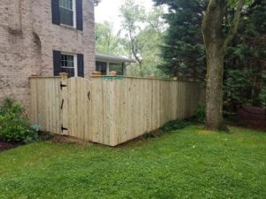 mid atlantic deck and fence wood fences in Millersville
