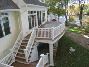 mid-atlantic deck and fence composite decking in Annapolis
