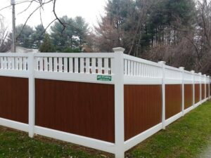 mid-atlantic deck and fence vinyl fences in Howard County