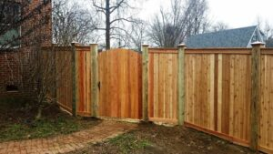mid-atlantic deck and fence best wood fences in Fulton
