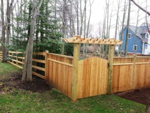 mid-atlantic deck and fence fences in Woodstock