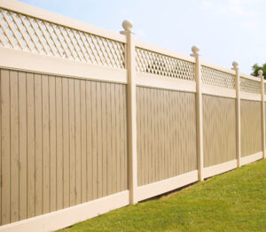mid-atlantic deck and fence vinyl fences in Bowie